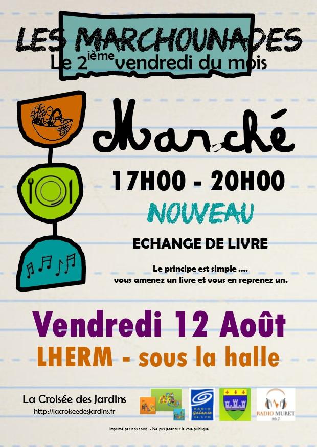 Flyer Les Marchounades - AOUT 2016