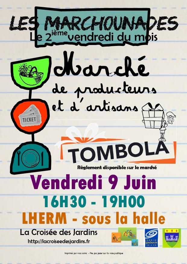 Flyer Les Marchounades -JUIN 2017