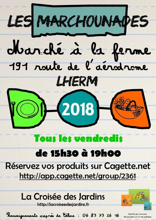Flyer Les Marchounades - d 2018